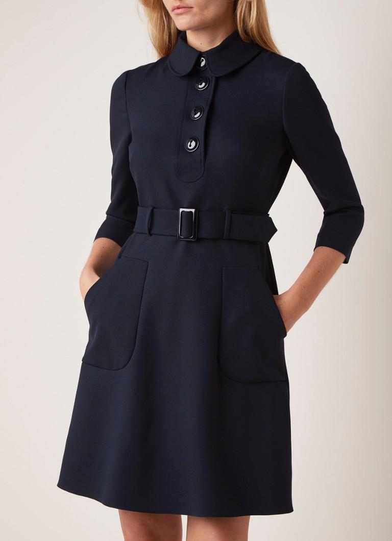 Damsel in a Dress Adie Midi-Kleid in A-Linie mit Gürtel