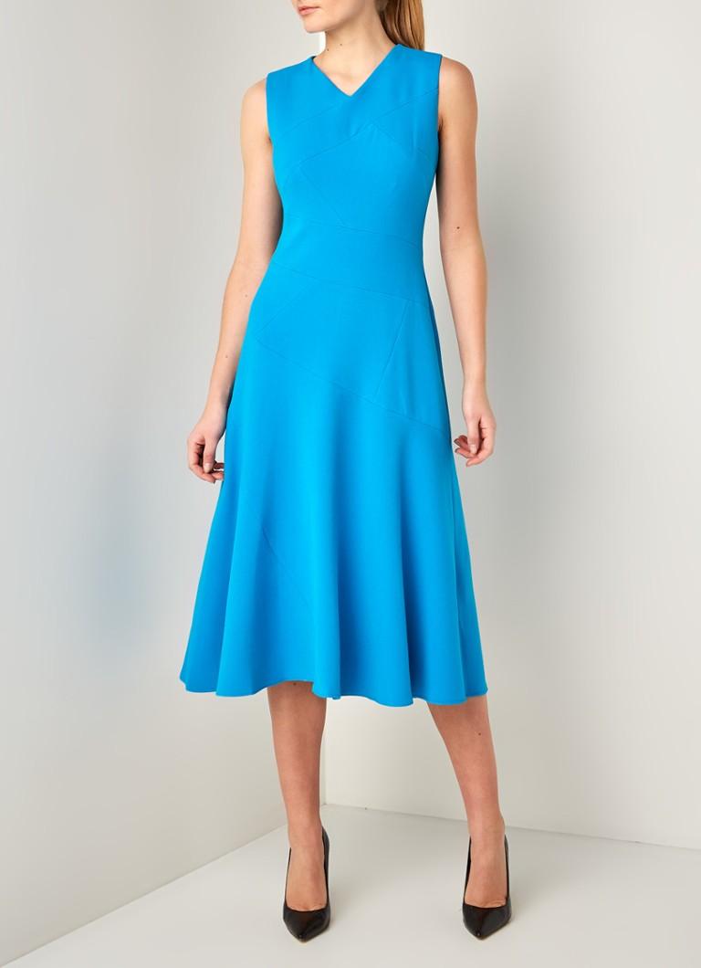 Damsel In A Dress Midi Kleid Mit V Ausschnitt De Bijenkorf