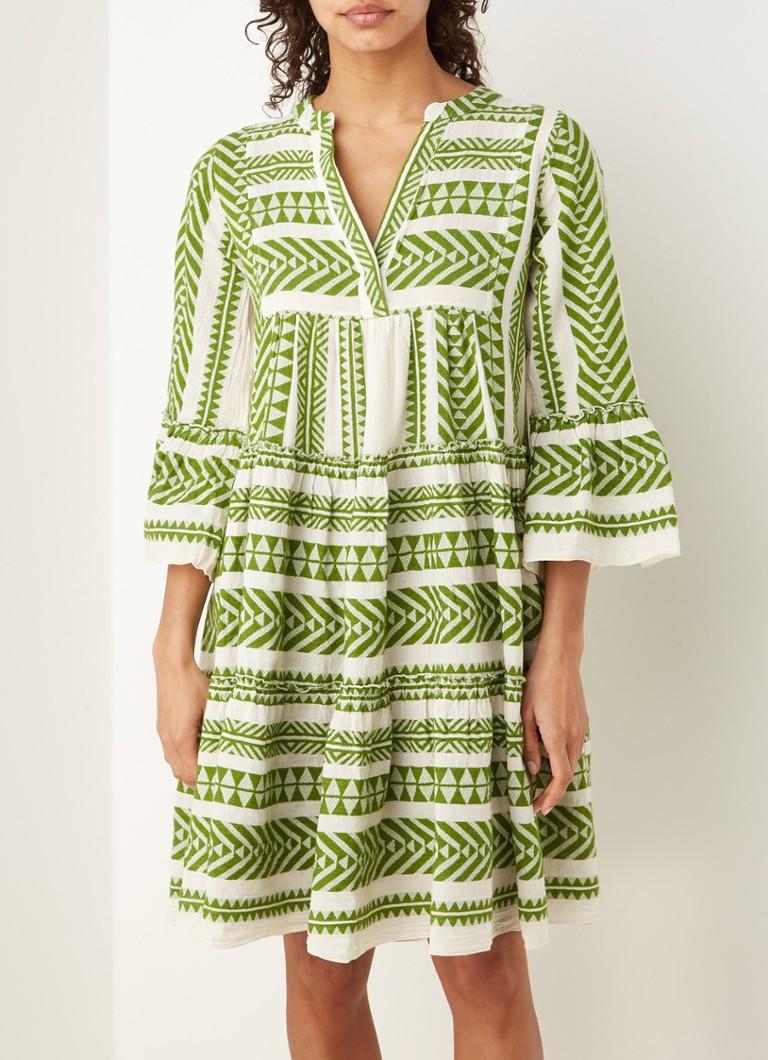 Devotion Ella Mini Tunika Kleid mit Aufdruck • de Bijenkorf