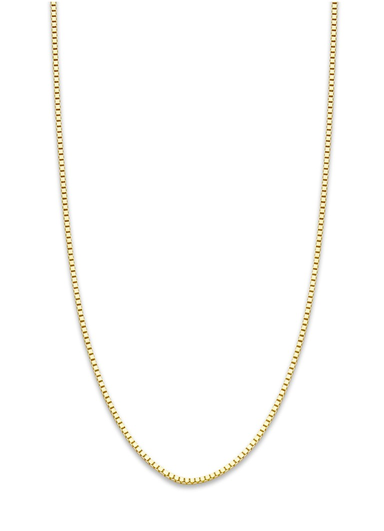 Diamond Point - Timeless Treasures Halskette in Gelbgold (60 cm) - Gold