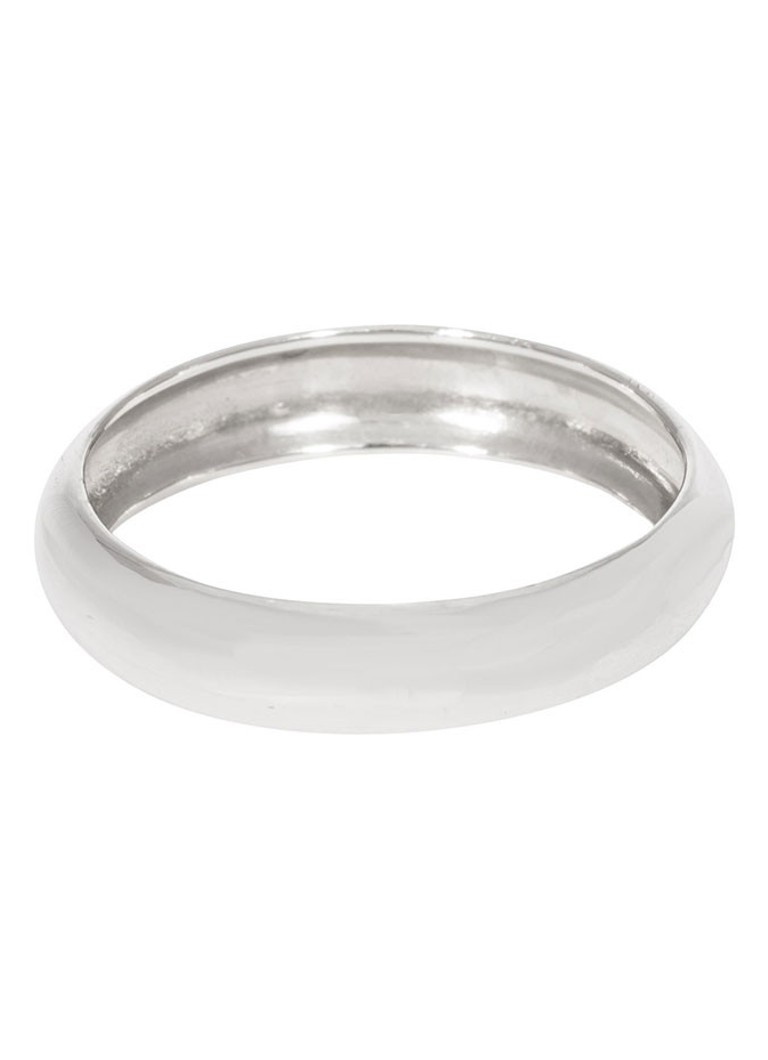 Fashionology - Sterling Silber Bold Stack Ring - Silber