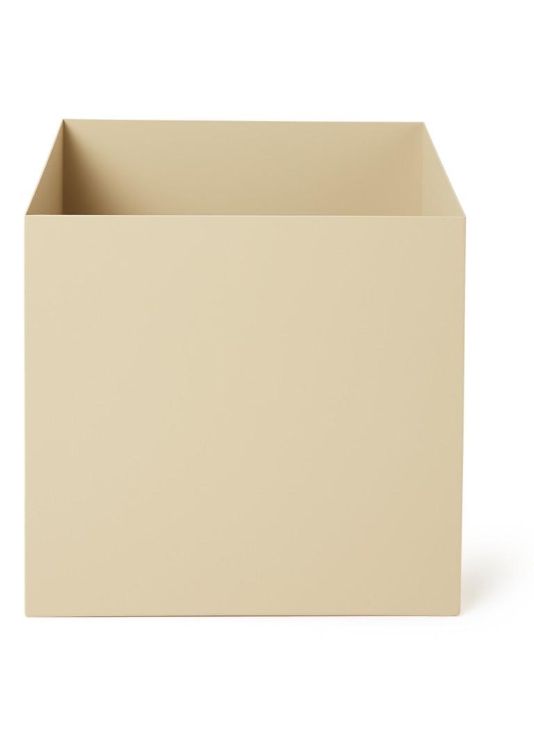 ferm living pflanzbox pflanzgef aus metall 24 x 22 5 cm. Black Bedroom Furniture Sets. Home Design Ideas