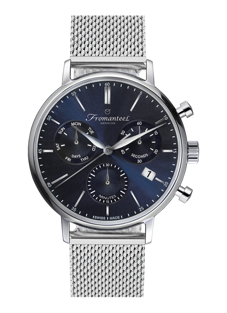 Fromanteel - Generations Chrono GS-1203-029 Uhr - Silber