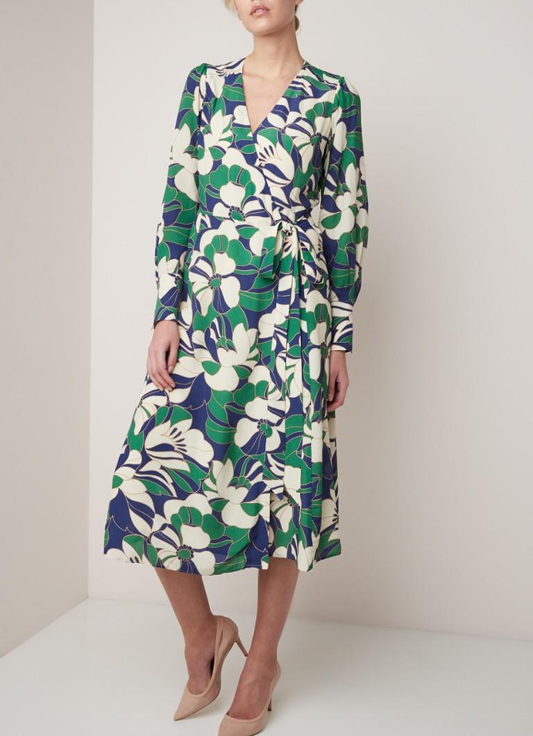 Ivy & Oak Midi-Wickelkleid mit Blumenmuster