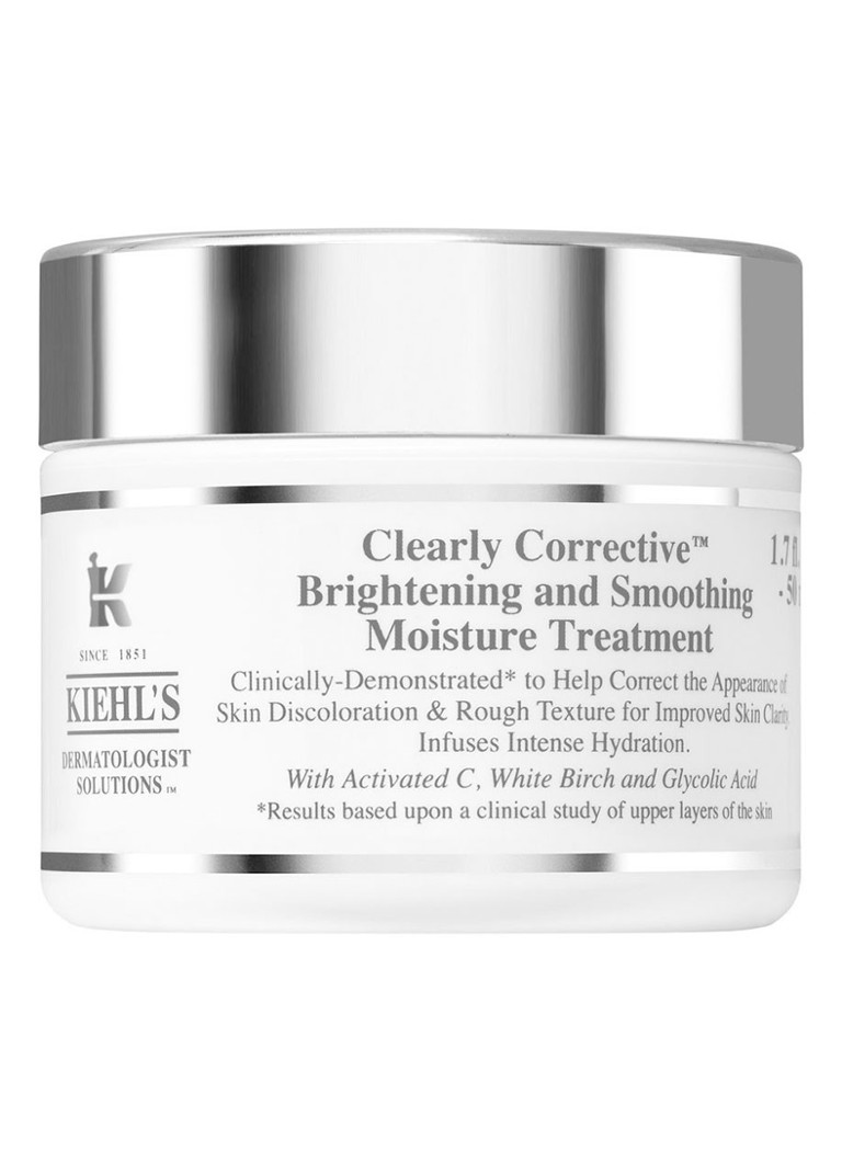 Kiehl's - Clearly Corrective Brightening & Smoothing Moisture Treatment – Tages- und Nachtcreme - null