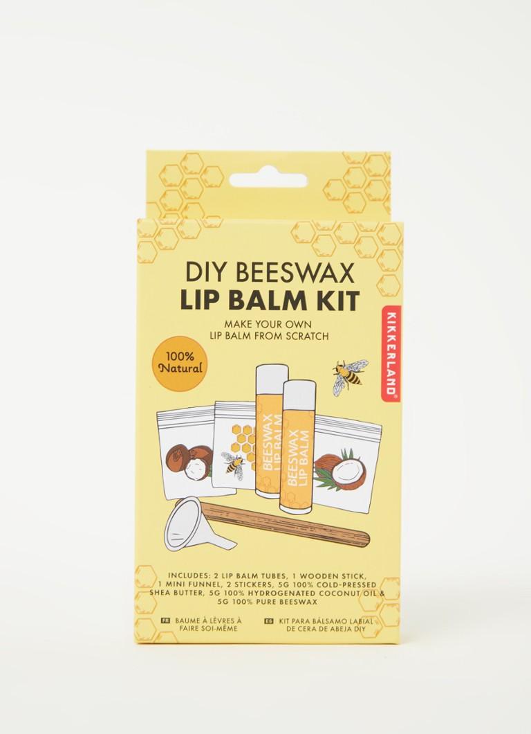 Kikkerland DIY Bienenwachs Lippenbalsam Kit