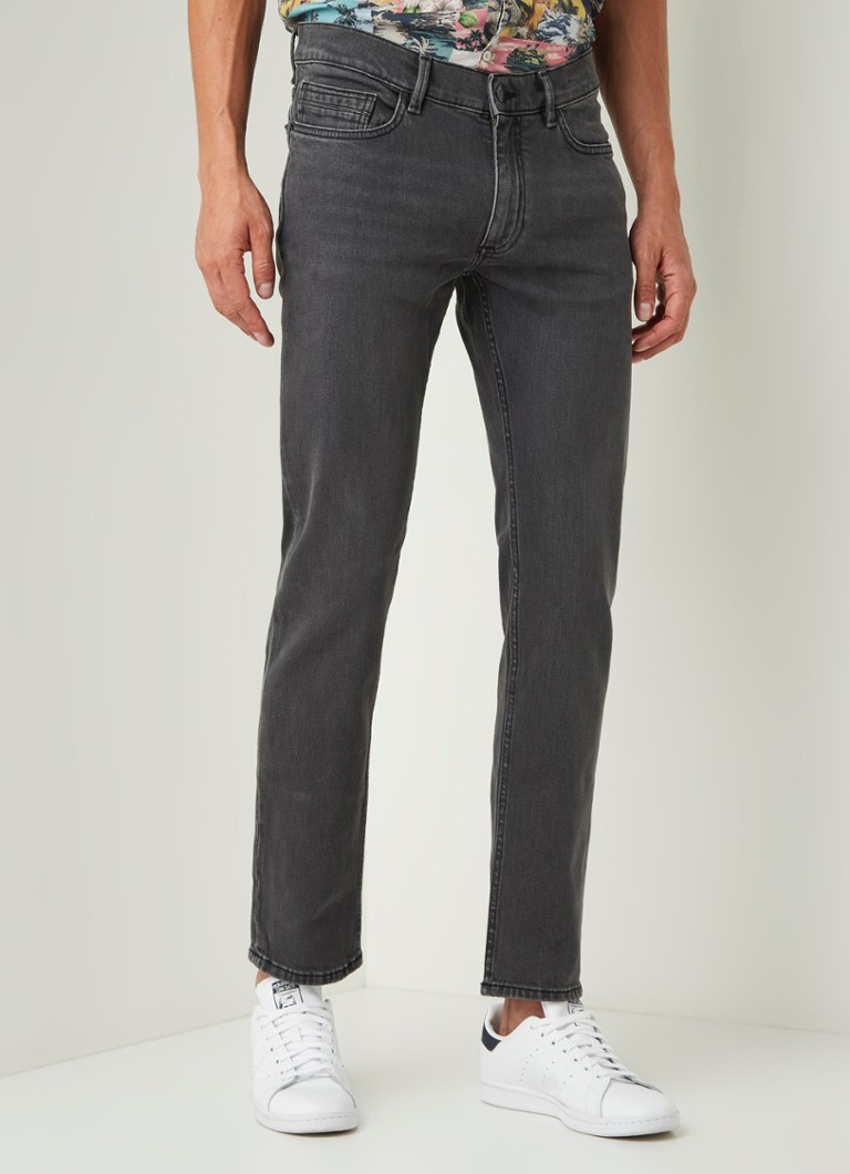 MANGO - Jan Slim Fit Jeans mit Stretch - Grau