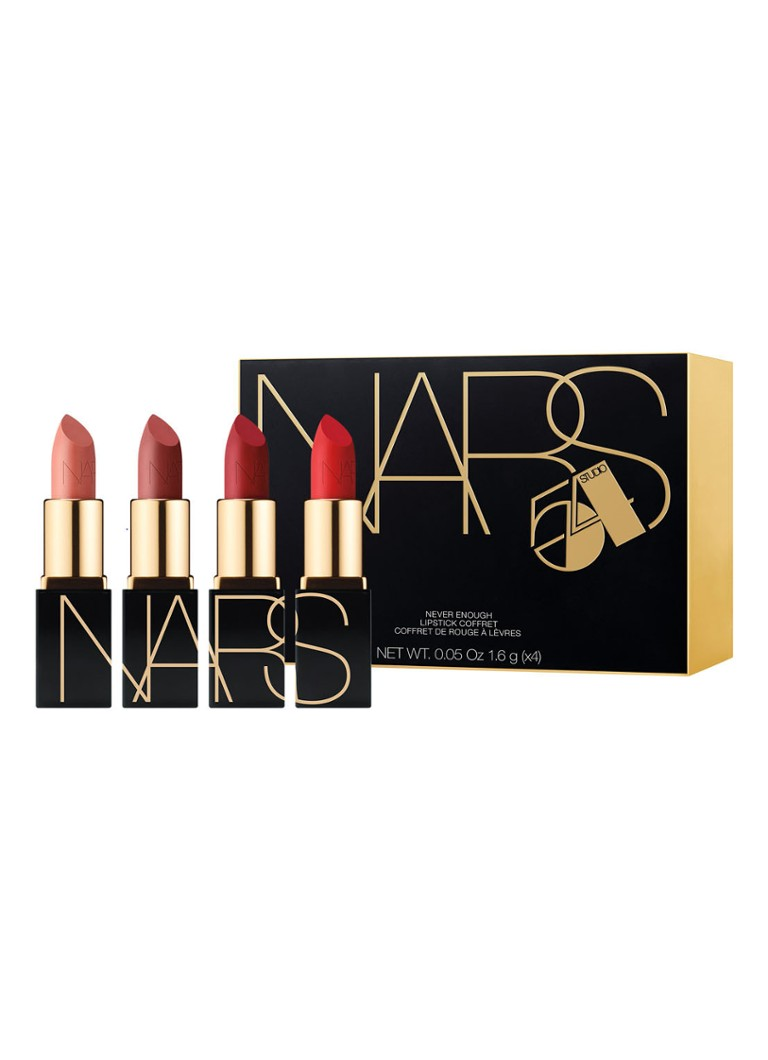 NARS - Never Enough Mini Lippenstift Coffret – Mini Lippenstift-Set in limitierter Auflage - null