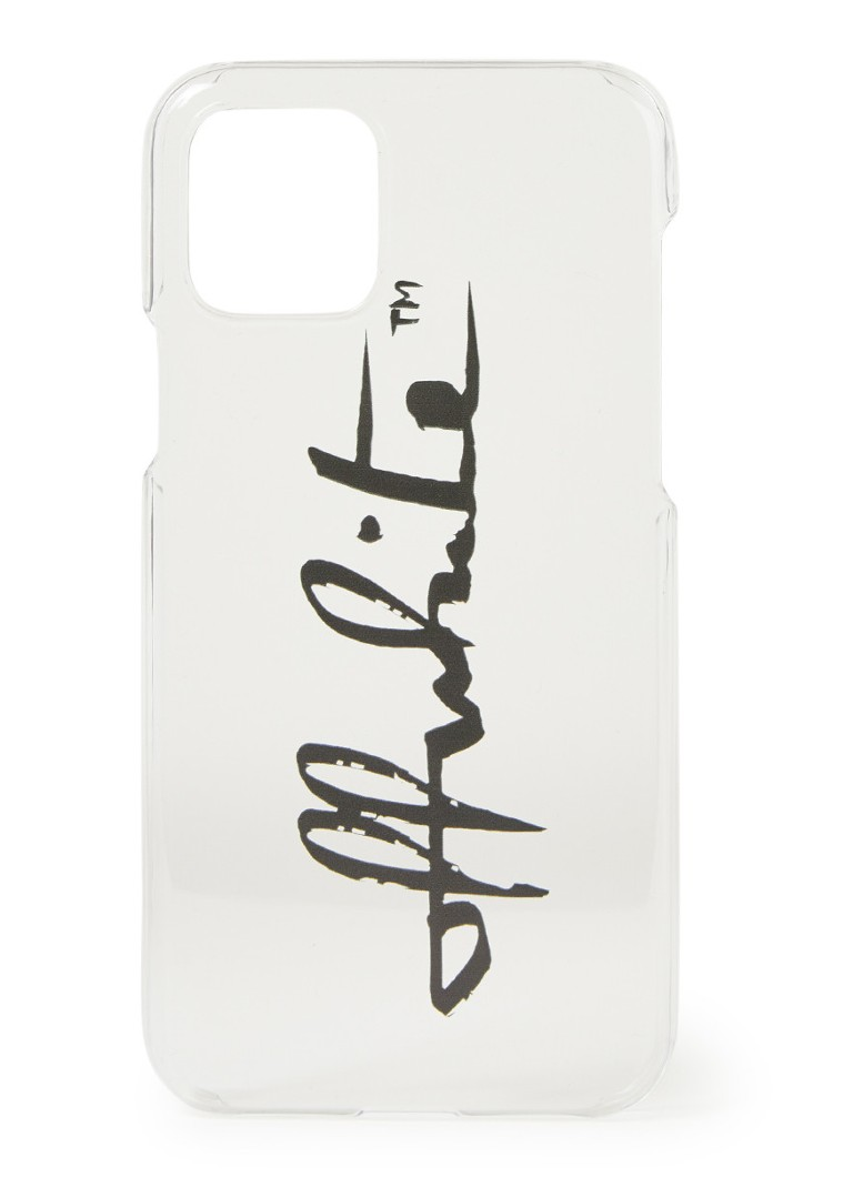 Off-White - Handyhülle mit Logo für iPhone 11 Pro - Transparent
