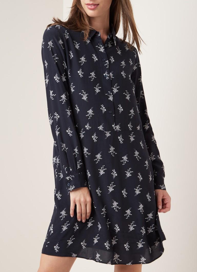 opus wucki-tunika-kleid mit blumenmuster • dunkelblau • de
