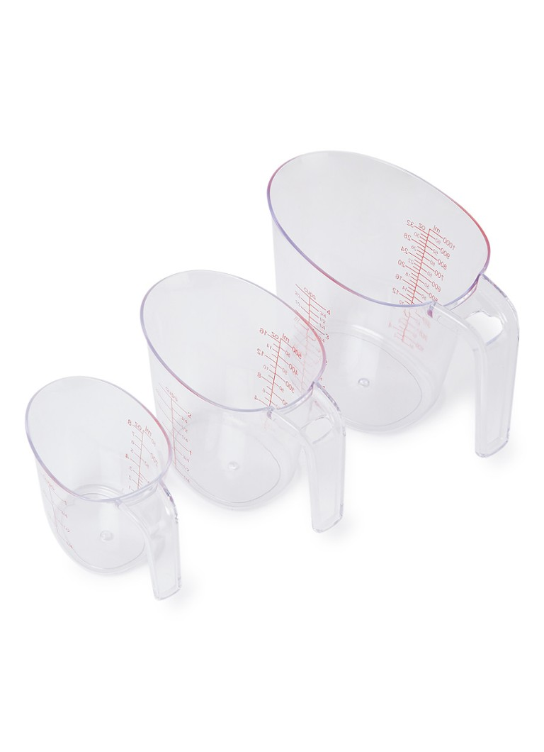 Patisse - Messbecher 3er Set - Transparent