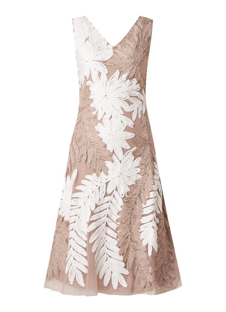 Phase Eight Denise A-Linien Kleid mit Tapework