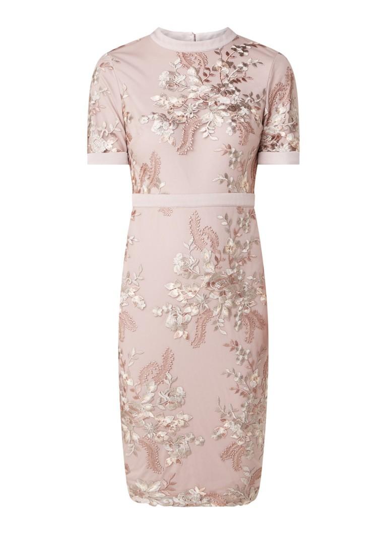 Phase Eight Evena Kleid mit Blumenstickerei