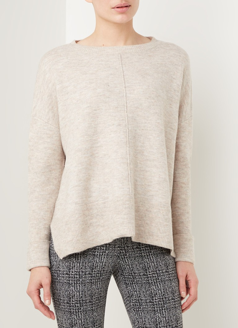 Phase Eight - Everleigh feiner Strickpullover im Nahkampf - Beige