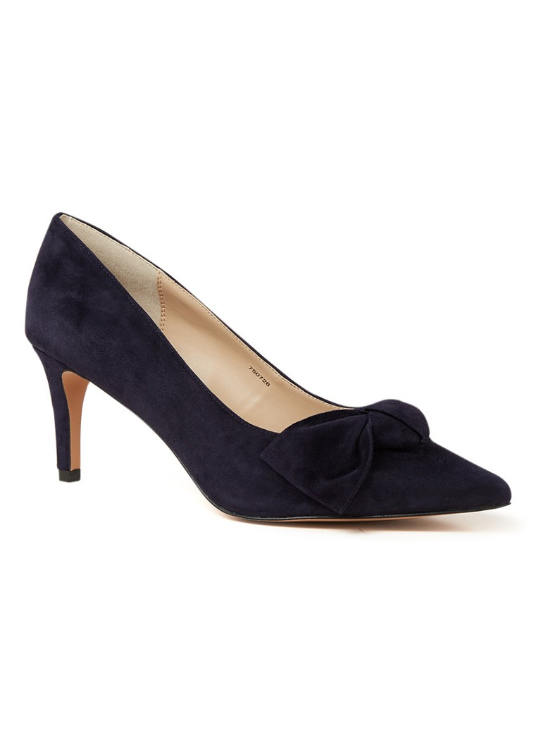 Phase Eight - Sim Court Pump aus Wildleder - Dunkelblau