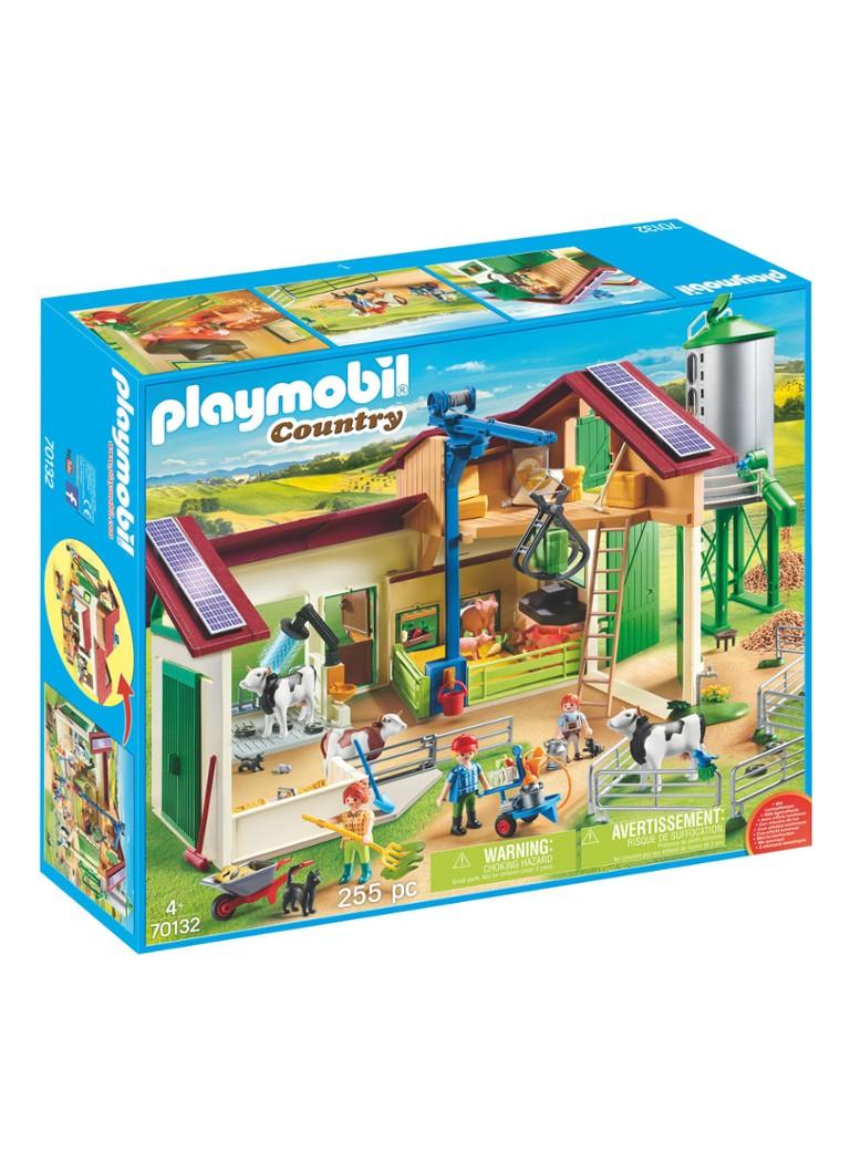 playmobil bauernhof mit silo und tieren • de bijenkorf