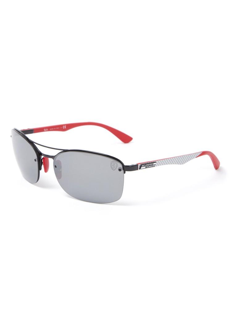 Ray Ban Ferrari Sonnenbrille Rb3617m Schwarz De Bijenkorf
