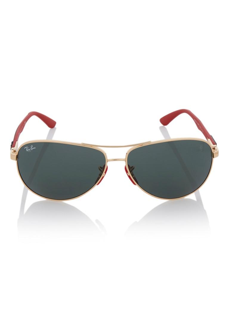 Ray Ban Scuderia Ferrari Sonnenbrille Rb8313m De Bijenkorf