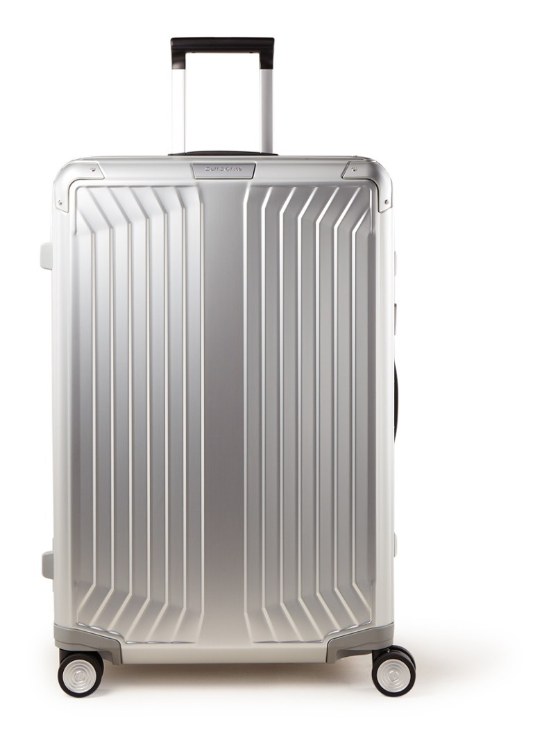 Samsonite - Lite Box Trolley 76 cm - Silber