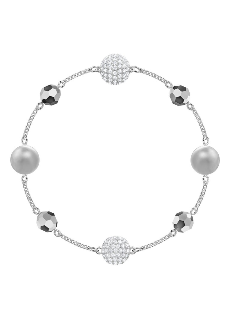 Swarovski - Remix Collection Strand Armband 5437865 - Silber