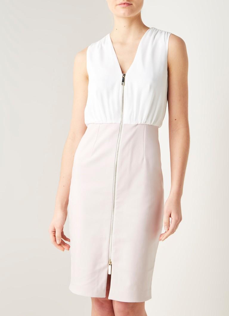 Ted Baker Annise Midi Tube Kleid mit Reißverschluss Detail in  Baumwollmischung