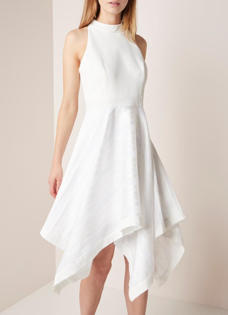 Ted Baker Ayesaa ärmelloses A-Linien-Kleid mit Kontraststoff
