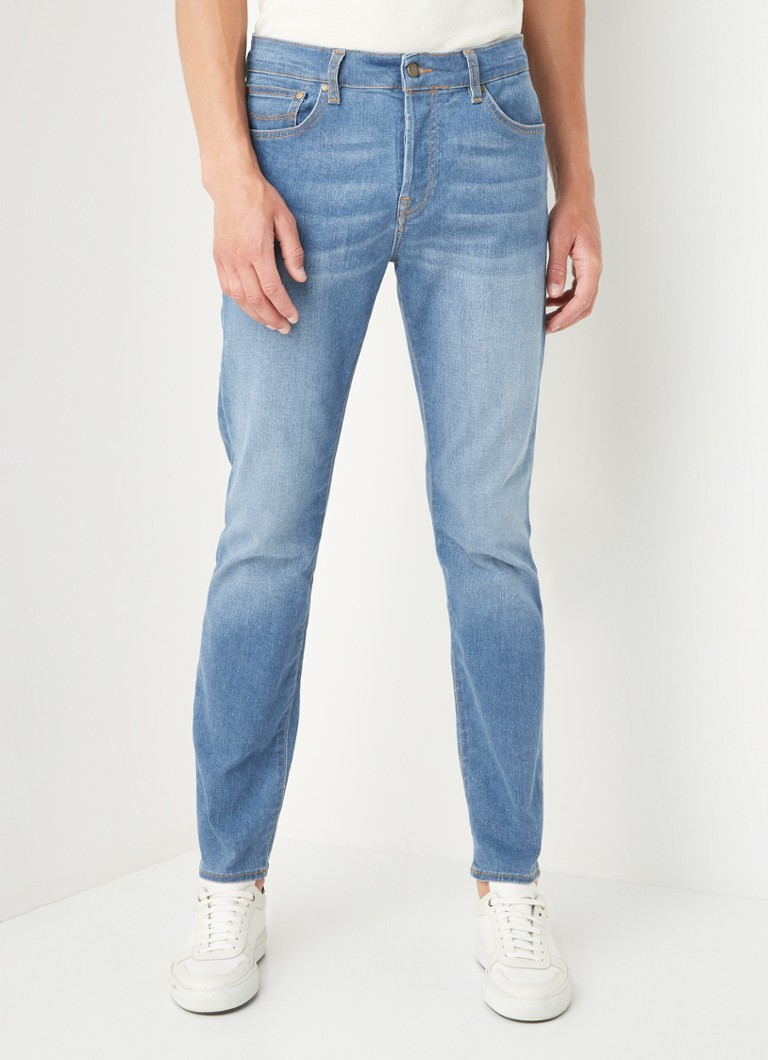Ted Baker - Hurrey Slim Fit Jeans mit Stretch - Indigo
