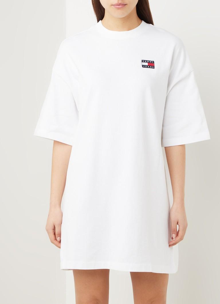 Tommy Hilfiger Oversized Shirtkleid aus Bio Baumwolle mit Logo ...